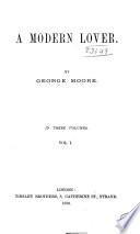 A Modern Lover Book