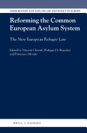 Pdf Reforming the Common European Asylum System