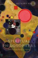 Spiritual Philosophers  From Schopenhauer to Irigaray