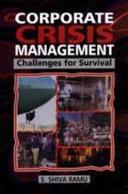 Corporate Crisis Management