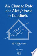 Air Change Rate and Airtightness in Buildings