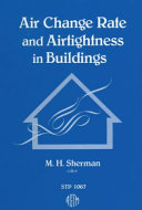 Pdf Air Change Rate and Airtightness in Buildings