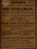 Bradshaw s Handbook for Tourists in Great Britain   Ireland