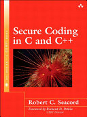 Pdf Secure Coding in C and C++ Telecharger