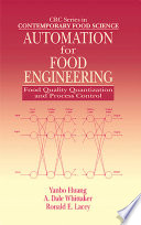 Automation For Food Engineering Book PDF