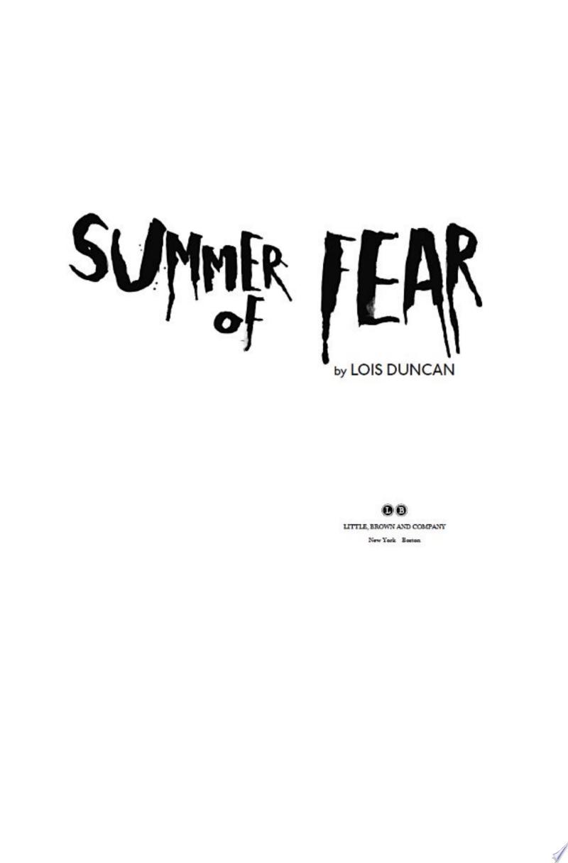 Summer of Fear banner backdrop