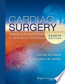 Cardiac Surgery Book
