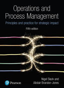 Cover of Operations and Process Management Principles and Practice for Strategic Impact