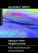 Ageing in Urban Neighbourhoods