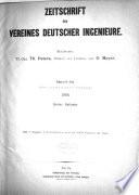 Zeitschrift des Vereines Deutscher Ingenieure