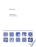 Sunni Islam  Oxford Bibliographies Online Research Guide Book