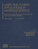 Laser and Plasma Applications in Materials Science