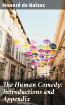 Pdf The Human Comedy: Introductions and Appendix Telecharger
