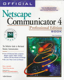 Official Netscape Communicator 4 Book For Windows
