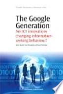 The Google Generation