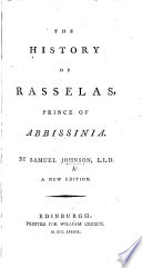 The Prince of Abissinia. A tale