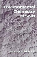 Environmental Chemistry of Soils