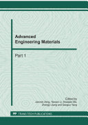 Advanced Engineering Materials