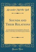 Sounds and Their Relations