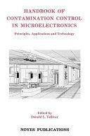 Handbook Of Contamination Control In Microelectronics Book PDF