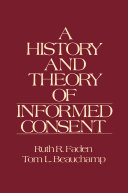 A History and Theory of Informed Consent [Pdf/ePub] eBook