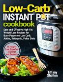 Low Carb Instant Pot Cookbook Book PDF