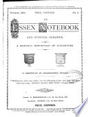 The Essex notebook and Suffolk gleaner