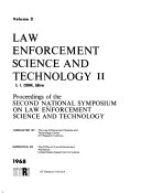 Law Enforcement Science and Technology