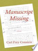 Manuscript Missing