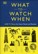 What to Watch When [Pdf/ePub] eBook