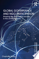 Global Governance And Ngo Participation Book PDF