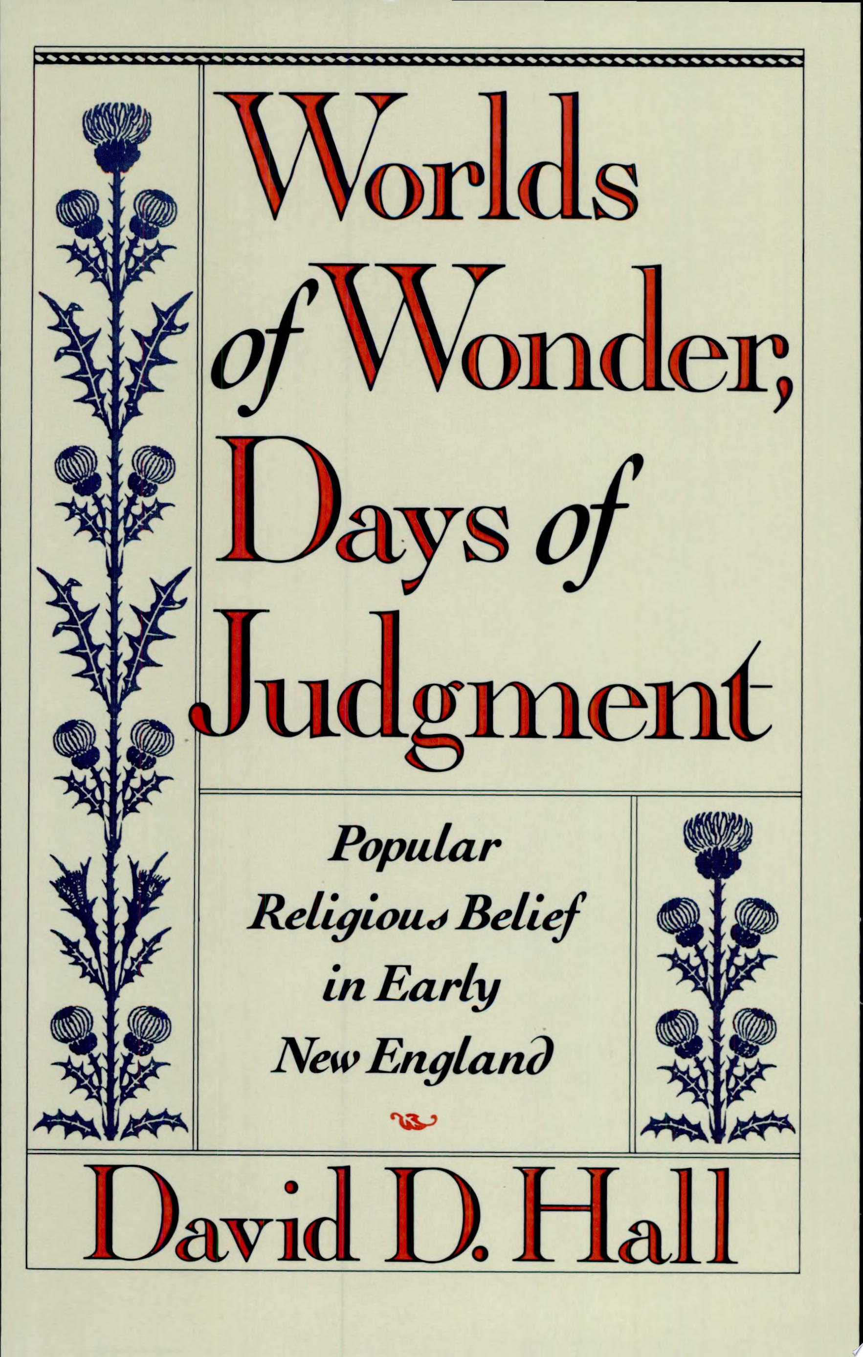 Worlds of Wonder  Days of Judgment