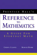 Prentice Hall s Reference to Mathematics