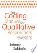 The Coding Manual for Qualitative Researchers by Johnny Saldana PDF