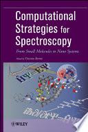 Computational Strategies for Spectroscopy