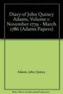 Diary of John Quincy Adams
