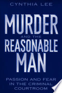 Murder And The Reasonable Man Book