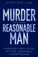Murder and the Reasonable Man