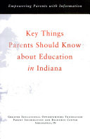 Key things a parent should know about education in Indiana
