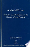 Authorial Echoes Book