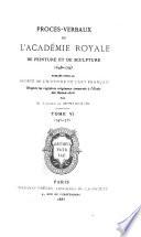 Procès-verbaux de l'Académie royale de peinture et de sculpture, 1648-1793: 1745-1755