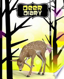 Deer Diary: Cute Writing Journal, Notebook 110 Lined (Ruled) Pages Deer in the Woods Collection (Yellow Forest Version)
