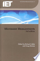 Microwave Measurements  3rd Edition Book