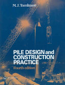 Pdf Pile Design and Construction Practice, Fourth Edition