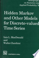 Hidden Markov and Other Models for Discrete- valued Time Series