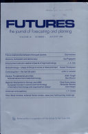 Futures The Journal Of Forecasting And Planning Volume 18number 4 August1986