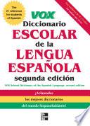 VOX Diccionario Escolar  2nd Edition