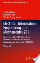 Electrical  Information Engineering and Mechatronics 2011