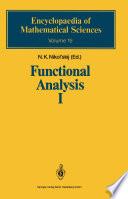 Functional Analysis I