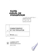1970 Census of Population
